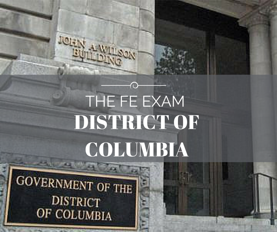 FE Exam District of Columbia