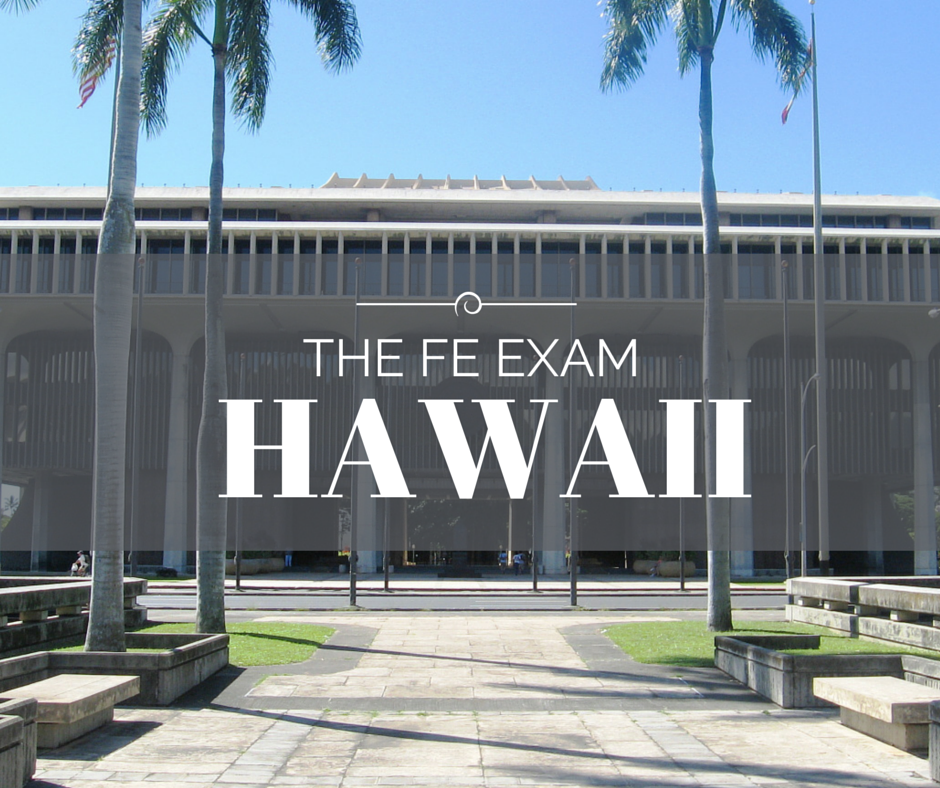 FE Exam Hawaii