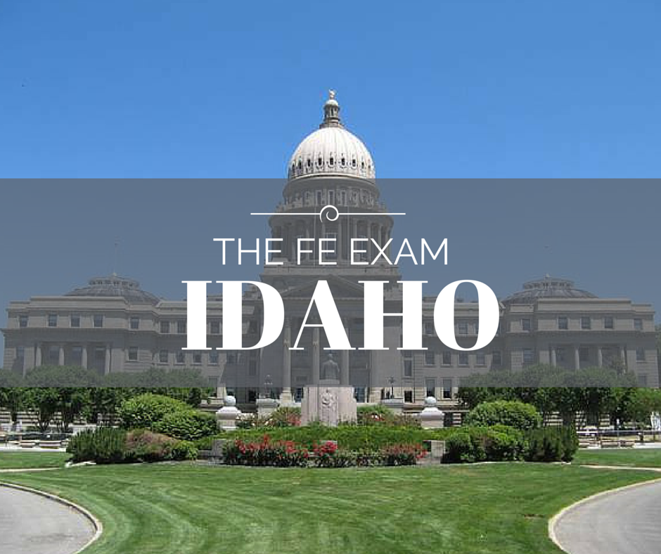 FE Exam Idaho