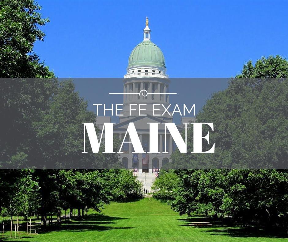 FE Exam Maine