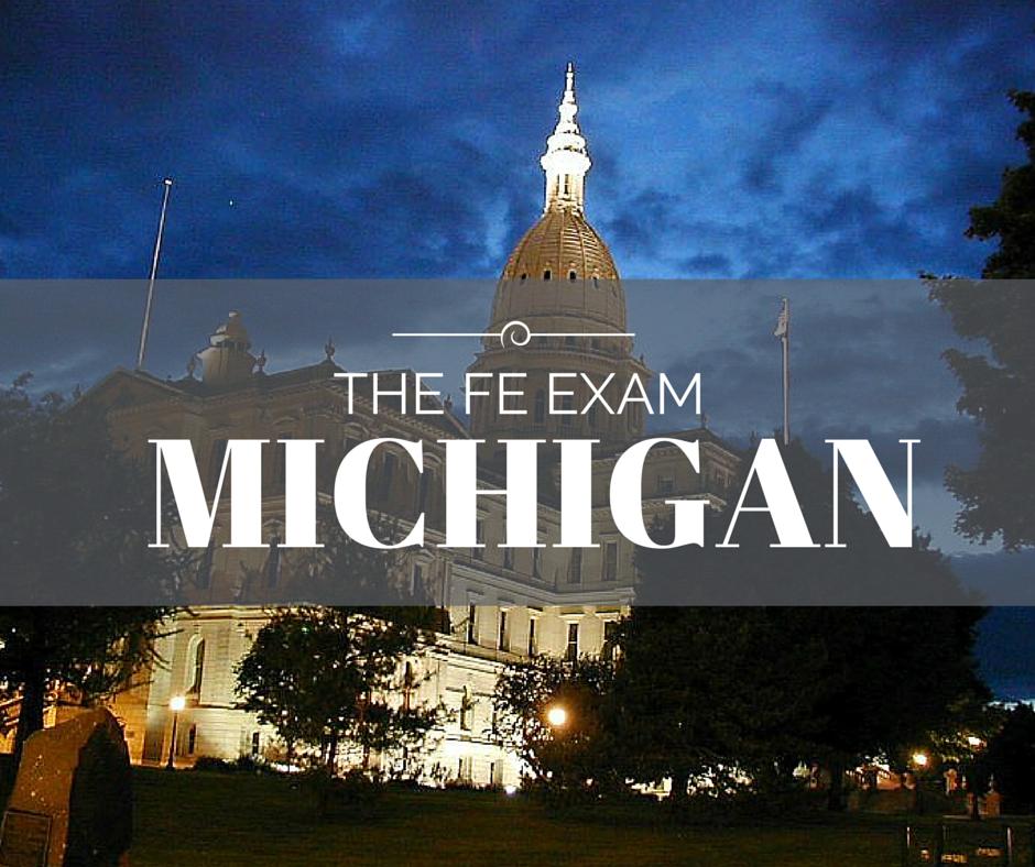 FE Exam Michigan